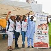 Miss Ghana Foundation Stocks National Blood Bank