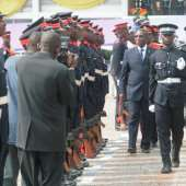 President Mills commends police, warns against complacency in combating crime
