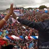 Akufo-Addo Attends Dome Kwabenya Campaign Launch