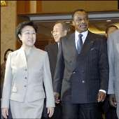President Kuffour in South Korea