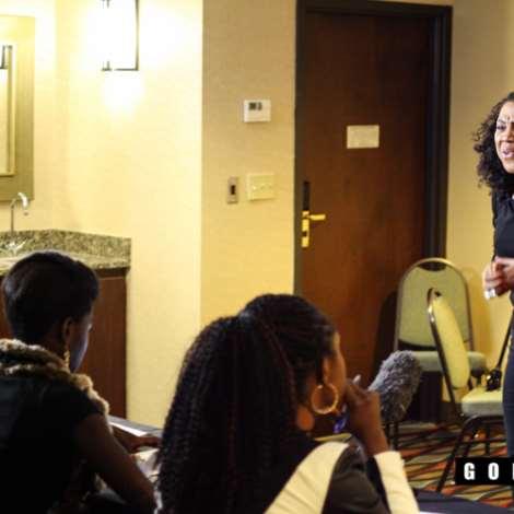 Stella Damasus Intense Acting Seminar In Houston, TX