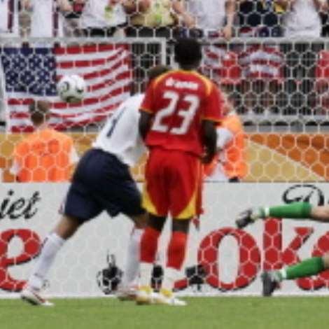 GHA : USA, 22 June 2006, Nuremberg, Germany