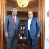 President Mahama meets Jacob Zuma