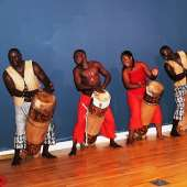 African native drumming and dance group: NGOMA ZA KONGO from Congo Brazzaville
