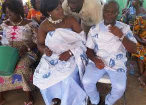 Emmanuel Nii Odoi Botchway And Eunice Naa Okailey Quaye, From Amsterdam Tied The Knot In Accra