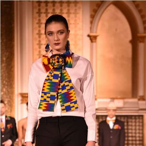 Ghana's Selina Beb Showcases 'kente Collection' At New Orleans Fashion Week 2018