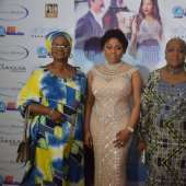 Eniola Badmus, Philippa Chiedu Abraham, Malcom Benson, And Moreattends 'basira In London' Movie Premiere
