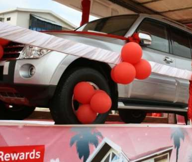 The major draws in the Vodafone rewards promotion