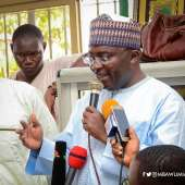 GOV'T TAKING MEASURES TO RESTORE PEACE, STABILITY- VICE PRESIDENT BAWUMIA