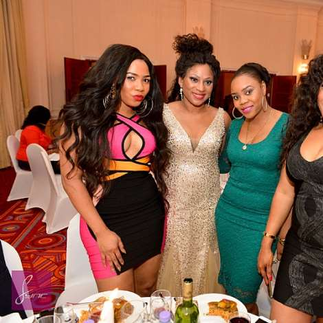 Norah Penawou at 40 - Ruke Amata, Victoria Inyama, Ada Snoop,Theodora Ibekwe