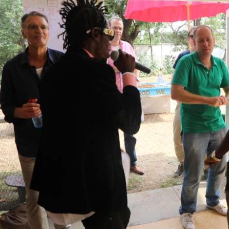 Vybrant Faya Thrills Holland Embassy In Accra