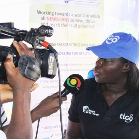 HEAD OF CORPORATE COMMUNICATIONS FOR TIGO GHANA, GIFTY BINGLEY, SPEAKING ON REASONS FOR SUPPORTING TV3 BLOOD DONATION
