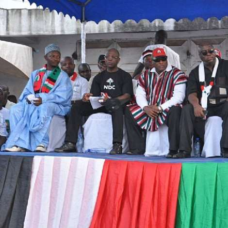 Sights from campaign launch (NDC)
