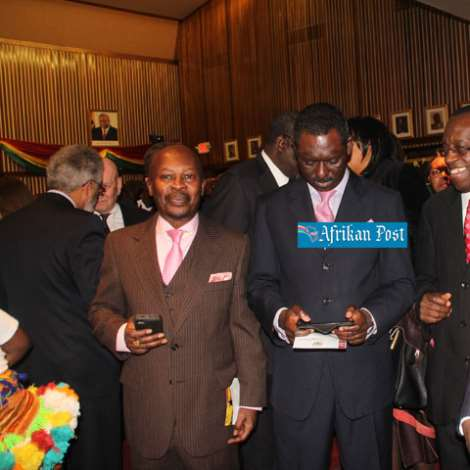 MEMBERS OF THE GHANAIAN MINISTERS FELLOWSHIP AT THE EVENT