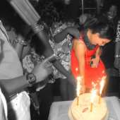 Monalisa Chinda's Birthday Party