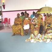 TOGBE & HIS BEAUTIFUL LADIES IN HIS PALACE