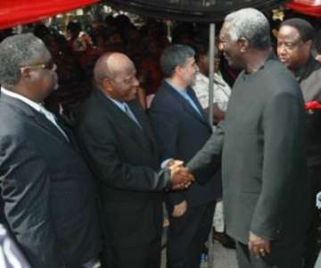 The diplomatic corps were fully represented at Madam Hawa&rsquo;s funeral<br/>Source: GNA