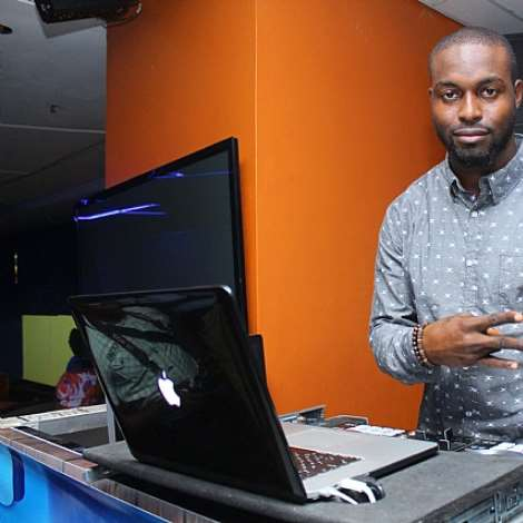 DJ NEPTUNE ON THE WHEELS AT STAR FOOTBALL ANNOUNCE,MENT