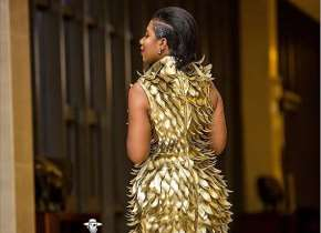 THE CONTROVERSIAL DRESS THAT WON SELLY GALLEY GLAM AFRICA'S VGMA 2017 BEST DRESSED