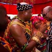 Mahama attend Otumfuo's 'Special Akwasidae'