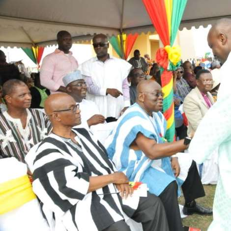 Nana Akufo-Addo at the 58th Independence Day Parade