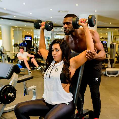 Valentine Surprise! Celebrity Stylist, Lilian Unachukwu Launches the First African-Owned Fitness Apparel Company
