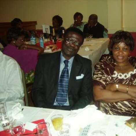 The most happy couples  Ricky,Naa Badu