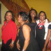 Women of Distinctions with there lovely husbands on Valentine Day