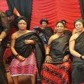 Nana Akosua Kusiwaa I, Queen-mother of Asantes in The Netherlands enstools Sub-Qeenmothers
