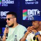 MARY J BLIGE, RAPHAEL SAADIQ, FLAVOUR, DIAMOND PLATNUMZ, OTHERS ARRIVE SOUTH AFRICA FOR BET EXPERIENCE AFRICA 2015