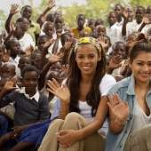 The Saturdays' Rochelle and Vanessa visit Tanzania for Comic Relief