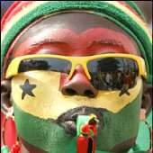 Ghana 2008 opening match