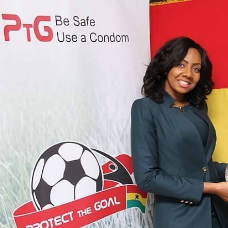 MISS GHANA SIGNS PROTECT THE GOAL CAMPAIGN
