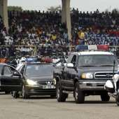 51st Independence Anniversary Parade at the Indepencence Square, Accra, on 6th March, 2008