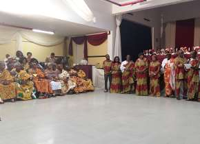Gadangme Association In Brescia (italy) Inauguration
