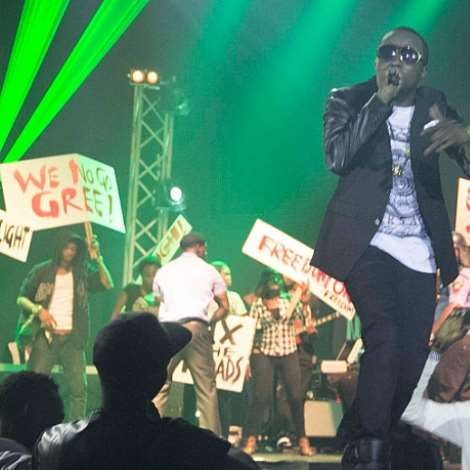 Ice Prince Zamani At Fire Of Zamani Concert And Album Launch