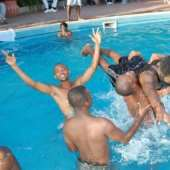 Students Get Loose at Grown & Sexy Pool Party