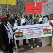 CONCERNED US/GHANAIAN CITIZENS DEMOSTRATION IN WASHINGTON DC HELD ON MARCH 15TH 2013