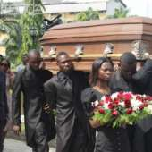 Susan 'Goldie' Harvey Laid To Rest In Lagos