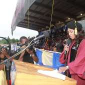 Mo Abudu Honoured With Honoris Causa Award At The 2014 Convocation Ceremony Of Babcock University