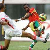 Guinea 1-1 Namibia