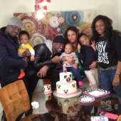 Psquare and wives celebrate Aliona's birthday