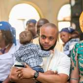 Colourful Photos From Jazzy Okey's Child Dedication