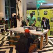 Photos From The Launch Of Hunter's Dry In Ghana
