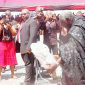 Finance Ministry workers grieve as funeral of Baah-Wiredu begins