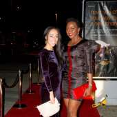 Kate Henshaw attends the London Premiere of Assassin Practice - 11May2012