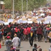 La Wonti Me (We Are Suffering) Demonstration in Bolgatanga