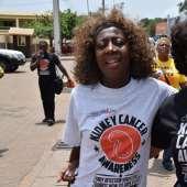 Juliet Ibrahim Walks on The Street of Accra