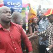 President Mills tours some commercial entities in Accra