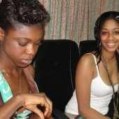Pics: Becca and Keisha White on Megahits Radio